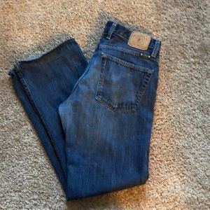 Lucky Brand Relaxed Straight Jeans